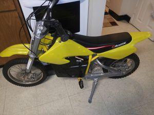 Razor mx650 electric dirt bike for Sale in Baltimore, MD