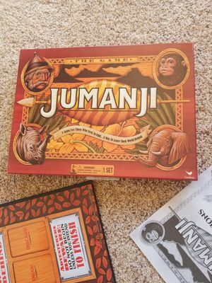 Jumanji board game for Sale in Albuquerque, NM