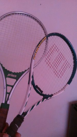 Two tennis rackets. for Sale in Tampa, FL
