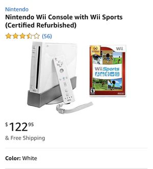 Nintendo Wii Console with Wii Sports for Sale in Nashville, TN