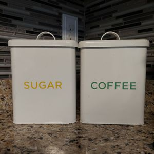 Sugar & Coffee Containers for Sale in Pleasant Hill, IA
