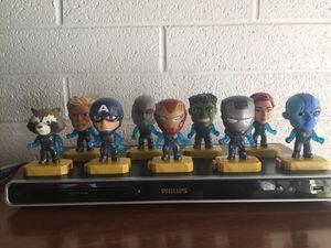 Marvel Avengers Light Up Toys Action Figures Figurines McDonalds Team Suit Set for Sale in Las Vegas, NV