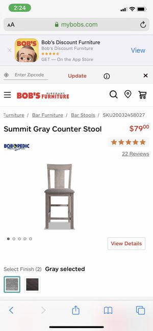 Counter Stools - BRAND NEW still in box! for Sale in Bloomfield Hills, MI