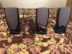 Dell PC speakers (used) for Sale in Sanford, FL