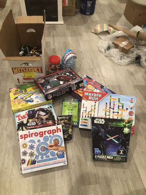 Games, matchbox cars, puzzles and other kids toys for Sale in Wakefield, MA
