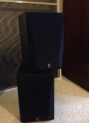 Yamaha bookshelf speakers for Sale in Lynchburg, VA