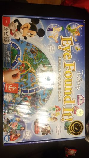 Disney Eye found it Hidden Picture Game for Sale in Littleton, CO