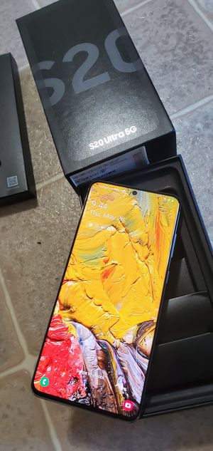 Brand New Samsung Galaxy S20 Ultra 5g T-mobile Metro Pcs Telcel for Sale in Stockton, CA