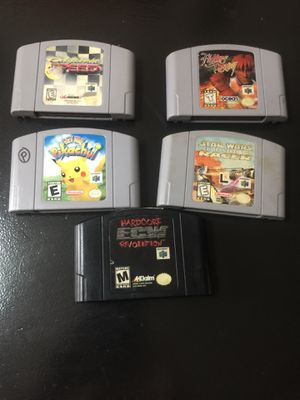 Juegos para Nintendo 64 for Sale in Hialeah, FL