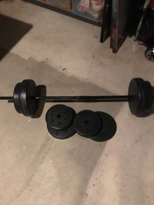 100lb weight set for Sale in Pittsburgh, PA