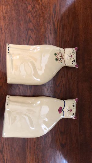Alpine Pottery Cats made in Roseville Ohio for Sale in Columbus, OH