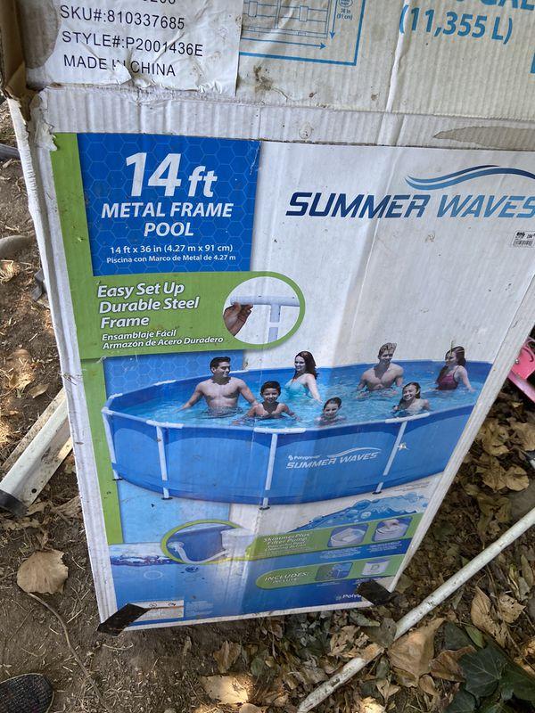 14 ft Pool