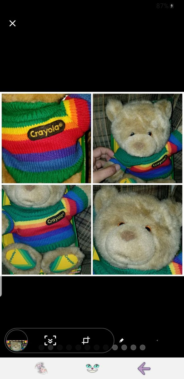 Crayola Kids Sweater Bear