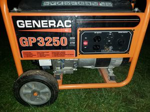 Generac gp3250 generator 3250w for Sale in Pataskala, OH