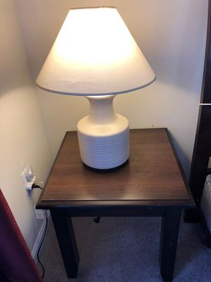 Sturdy bed side table(only table) for Sale in Herndon, VA
