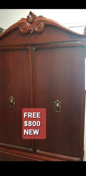 FREE BOMBAY TV HUTCH $800 new for Sale in San Jose, CA
