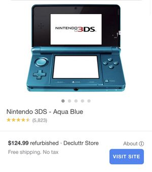 Nintendo 3DS works very good for Sale in Madera, CA