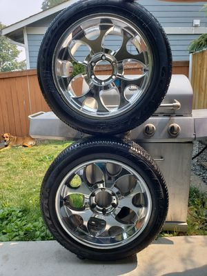 (2) 275/45R20 (2) Tires For Boat, Trailer, 6 Logs $125 OBO for Sale in Everett, WA