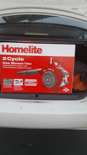 Gas Blower/vac homelite 2 cycle for Sale in San Jose, CA