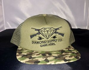 Exclusive Diamond Co The Game Association Duck Trucker SnapBack Camo Duck NEW for Sale in South Gate, CA