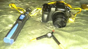 Lumix G7 DSLR Camera w/ accessories for Sale in Indianapolis, IN