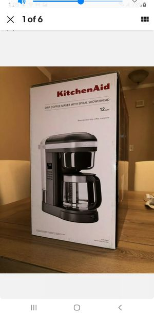 KitchenAid 12 Cup Drip Coffee Maker with Spiral Showerhead, KCM1208 for Sale in CARLISLE BRKS, PA