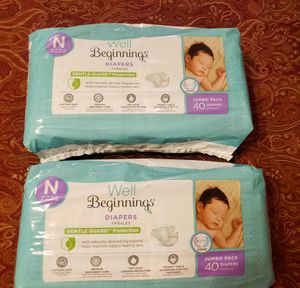 New Diapers Newborn for Sale in Keller, TX