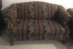 Multicolored sofa and love seat - Knightdale, NC for Sale in RALEIGH, NC