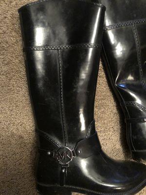 Michael Kors rain boots for Sale in San Antonio, TX
