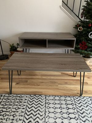 Retro coffee table and TV stand set for Sale in Alameda, CA