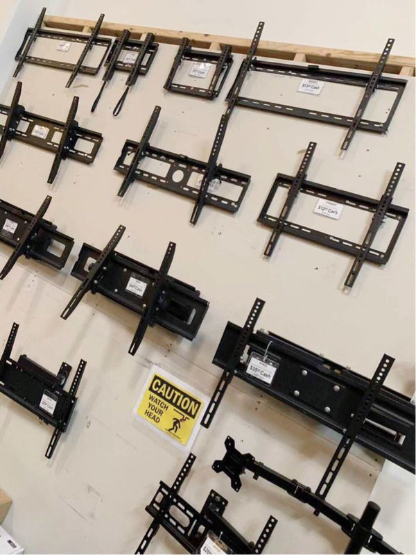 New in box price $5 to $45 max 22 to 85 inches fixed tv full motion swivel television wall mount stand