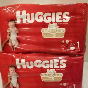 Huggies Size 1 $6 Each bag for Sale in Ontario, CA