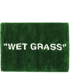 Off white Wet grass rug ikea x Virgil abloh markerad collection for Sale in Anaheim, CA