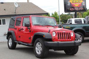 2008 Jeep Wrangler for Sale in Edmonds, WA