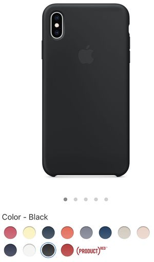 iPhone XS Max Silicone Case - Black and Pacific Green for Sale in Burke, VA