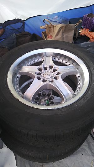 215/65r16 rims and tires for Sale in Portland, OR
