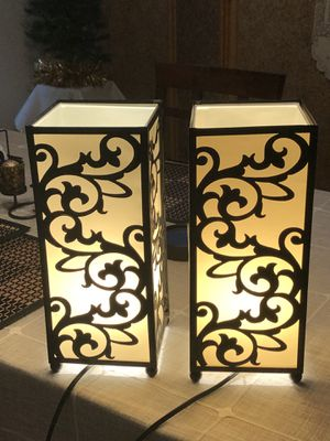 """Beautiful Table Lamps 14"""" for Sale in Mokena, IL"""