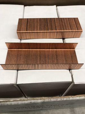 """9 box X 2000 STAPLES C 5/8 -2000 / Box - Carton -Closing 1-1/4"""" Crown 5/8"""" Leg NEW for Sale in Miami, FL"""