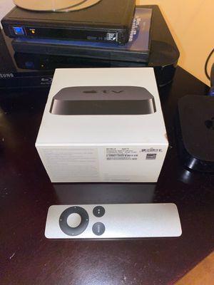 Apple TV (3rd generation) digital media streamer- 8 GB HD , model A1469. Condition is Used. Includes Original box, Apple TV original remote control a for Sale in Anaheim, CA