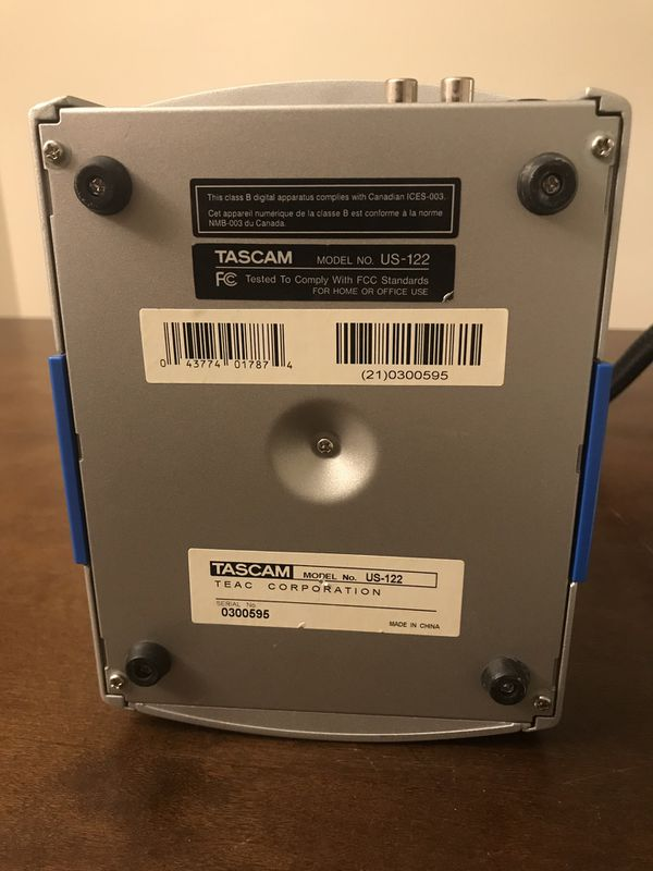 TASCAM US-122 USB Audio Interface