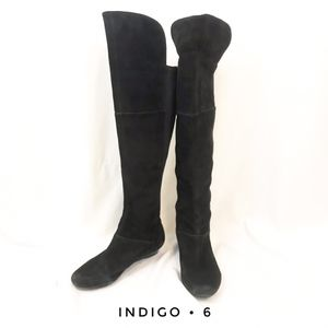 Indigo by Clark's women's tall black boots size 6 for Sale in San Diego, CA