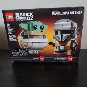 New Lego BRICK HEADZ Mandalorian And The Child Set for Sale in Dickinson, TX