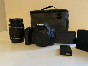 Canon Rebel SL2 bundle for Sale in Renton, WA