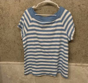 Blue and white striped shirt (lrg) for Sale in Arlington, TX