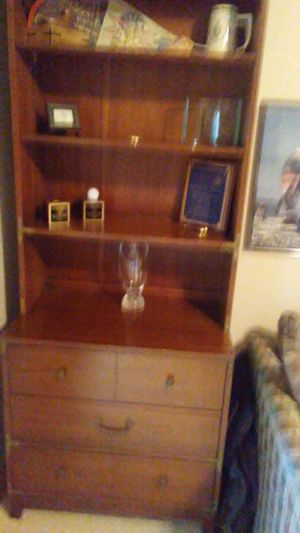 Solid wood desk and dresser for Sale in Traverse City, MI