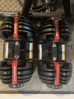 Bowflex Adjustable Dumbbells for Sale in Puyallup, WA
