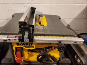 Table saw flex volt tool only for Sale in Springfield, VA