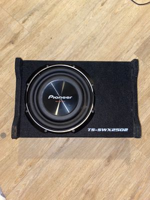 Pioneer Subwoofer TS-SWX2502 for Sale in Long Beach, CA