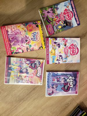 5 My Litte Pony DVD's for Sale in Coral Springs, FL