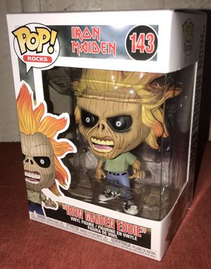 Funko POP Iron Maiden Eddie for Sale in Fort Bliss, TX